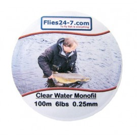 Clear Water Monofil 6lbs