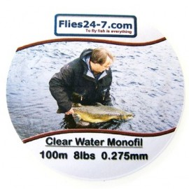 Clear Water Monofil 8lbs