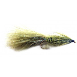 Olive Woolly Bugger size 6