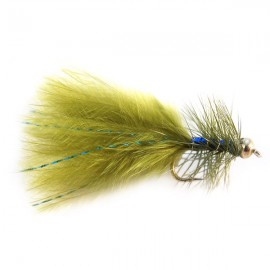 "Gold Head, ""Blue Flash"" Damsel"