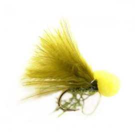 Olive Straggle Booby size 12